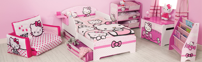 Agreable Chambre Enfant Hello Kitty Sanrio. Pack Complet Hello Kitty